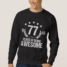 Costume For 77 Years Old Birthday Shirt