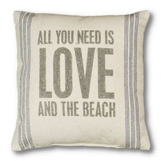 This is my life    Find it at the Foundary - All You Need is Love Pillow