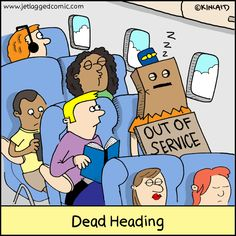 Flight Attendants Archives - Jetlagged Comic
