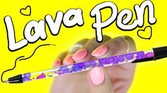 "DIY ""LAVA LAMP"" PEN"