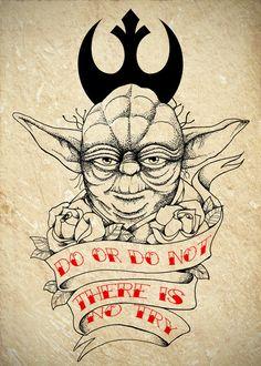 Master Yoda Tattoo Commission by ~Chronokhalil on deviantART