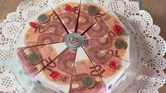 Ideen zum Selbermachen - Geldgeschenk in Kuchenform