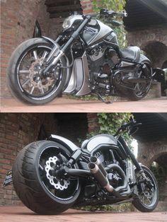 "Harley Davidson Night Rod ""XTrem"" by X-Trem Harley Davidson Night Rod, Harley Davidson Museum, Motorcycle Design, Motorcycle Helmets, Custom Motorcycles, Cars And Motorcycles, V Rod, Bobber Chopper, Super Bikes"