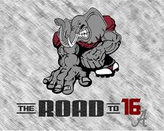 Alabama Crimson Tide Road to 16