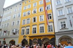 Mozart Salzburg was the birthplace and home of Mozart. Mozart was born in 1756 and was just 5 years old when he started playing for Royal me...