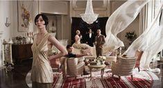 """Мебель и интерьеры из фильма """" Великий Гэтсби"""" (The-Great-Gatsby)"""