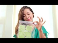 DIY Ice Cucumber Pads for Puffy Eyes #MichellePhan #DIYBeauty