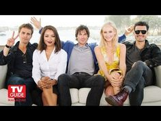 The Vampire Diaries @ Comic-Con 2015! Ian Somerhalder! Paul Wesley! - YouTube