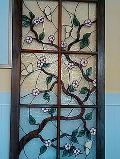 Faux stained glass using acrylic and silicone by Julie Baker-Lowden https://www.facebook.com/MyArtsyFartsySelf