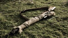 Lee-Enfield, Lee Enfield, sniper rifle, British Army, camo
