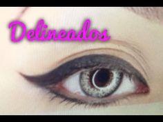 Tutorial De Maquillaje: Delineado Con Lapiz, Gel, Sombra Y Para Parpado Caido - JuanCarlos960 - YouTube