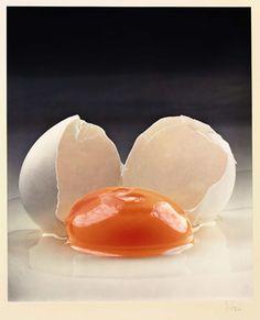 Broken Egg, IRVING PENN, 1959