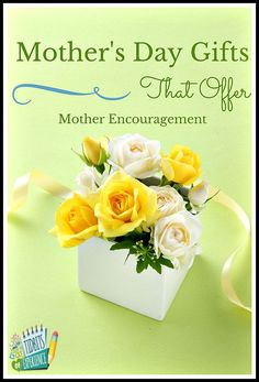 Mother's Day Gifts That Offer Mother Encouragement - http://www.tidbitsofexperience.com/mothers-day-gifts-that-offer-mother-encouragement/http://www.tidbitsofexperience.com/wp-content/uploads/2015/03/Mothers-Day-Gifts-That-Offer-Mother-Encouragement-.jpg   Give your mother in your life the gift of encouragement with these gift ideas.