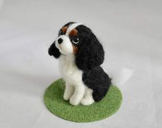 Needle Felted Dog / Custom Miniature Sculpture of your