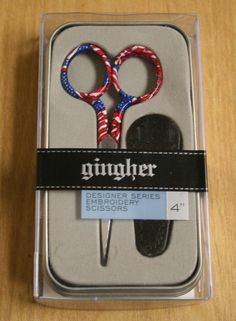 "Gingher Scissors List | Catalog > Scissors > Gingher > GINGHER FREEDOM 4"" DESIGNER SCISSORS"