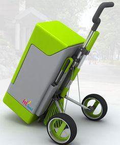 Green Fox Eco-Friendly Cleaning Cart-Designed to be Pride of Street Cleaners Cleaning Cart, Bicycling Magazine, Cycling For Beginners, Wheelchair Accessories, Electric Tricycle, Cigarette Girl, Bicycle Workout, Trash Bins, Tiny House Plans