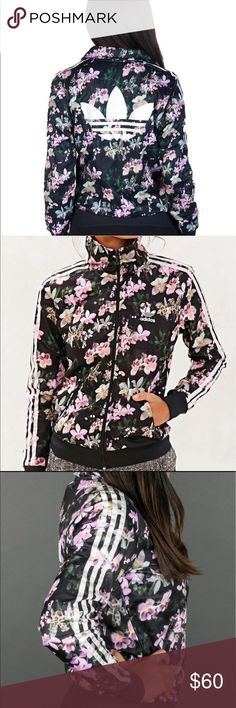Adidas orchid track jacket size medium In perfect condition adidas Jackets & Coats