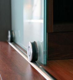 Stainless Steel Door Hardware  Contemporary Sliding Door Hardware [ Barndoorhardware.com ] #modern #hardware #specialty