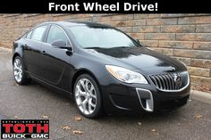 2015 Buick Regal GS Black | 2015 Buick Regal Gs, Black Diamond Tricoat In Akron, Ohio