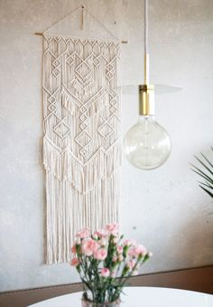 macrame wall hanging decor from Eve Lines