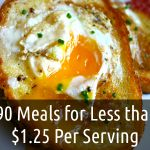 90 Meals For $1.25 Per Serving (or Less!)