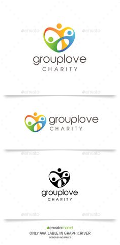 Group Love Logo Template Vector EPS, AI. Download here: http://graphicriver.net/item/group-love/14261567?ref=ksioks