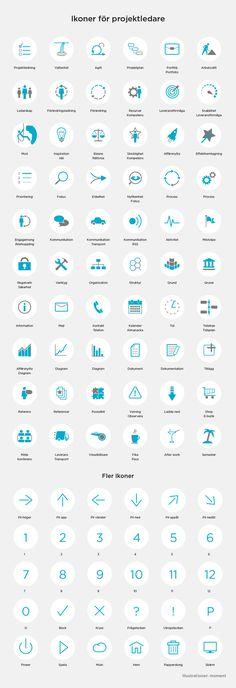 Icons for project management. http://www.moment.se/90-ikoner-projektledning/