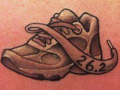 running shoe tattoo - Google Search