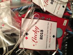 Good idea for gifting lottery tickets :)