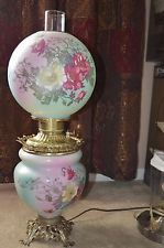 """Beautiful Victorian Era """"Gone with the Wind"""" style Lamp"""
