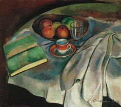 Still life with White Tablecloth 1919 - Frigyes Frank Henri Matisse, Be Still, Still Life, Moving To Paris, Cubism, Hanging Art, Les Oeuvres, Fine Art, Texture