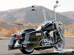 2008 Harley Davidson Road King Flhrc Right View