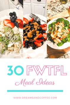 Over 30 Faster Way to Fat Loss Meal Ideas - Breakfasts, Lunches, Dinners + Snacks! Healthy Eating Recipes, Healthy Meal Prep, Diabetic Recipes, Healthy Food, Carb Day, Paleo Sweet Potato, Macro Meals, Big Meals, Family Meals