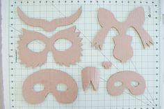 Project Nursery - DIY Cardboard Animal Masks