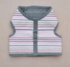 Step by step diy dog vest harness