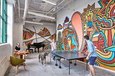 Etsy headquarters, New York. Design: Gensler