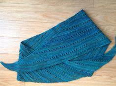 Ravelry: Asymmetrical Scarf pattern by Joanne Thread Head