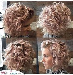 25 best short haircuts for women with curly hair Curly Hair Cuts curly hair Haircuts short Women Short Curly Cuts, Short Curly Hairstyles For Women, Messy Bob Hairstyles, Haircuts For Curly Hair, Medium Short Hair, Best Short Haircuts, Curly Hair Cuts, Short Hair Cuts For Women, Medium Hair Styles