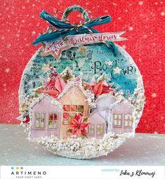 bombka z pastą śniegową Snow Globes, Christmas Ideas, Home Decor, Decoration Home, Room Decor, Home Interior Design, Home Decoration, Interior Design
