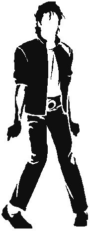Michael Jackson Crochet Graphghan Pattern (Chart/Graph AND Row-by-Row Written Instructions) - 03