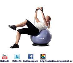 Gym Ball Base - Kettler es una empresa alemana dedicada a la fabricación de máquinas de fitness.  http://satkettler.bmsportech.es