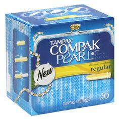 Tampax Campak Pearl Tampons