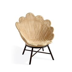 The Rattan Venus Chair on Forged Metal Base by Soane Britain. Tropical Furniture, Bamboo Furniture, Furniture Design, Traditional Chairs, Forging Metal, French Chairs, Metal Chairs, Modern Room, Contemporary Furniture