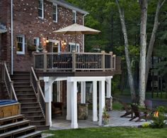 under deck patio idea - Under Deck Patio Ideas