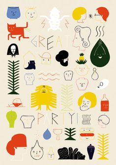 NOUS VOUS - FUNNY COLLECTION OF CHARACTERS. JUST LIKED TO PIN IT