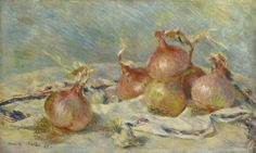 Pierre-Auguste Renoir (1841-1919). The Onions. 1881. Oil on canvas. Sterling and Francine Clark Art Institute - Williamstown - USA