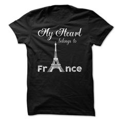 My Heart ᗕ Belongs To France ParisMy Heart Belongs To France ParisHeart, belongs, France, Paris, love, hometown, country