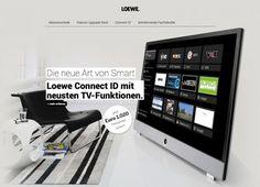 Loewe Österreich beauftragt erneut cc Die neue Art von Smart! creativteam communications in Wien hat in Zusammenarbeit mit den hannoveraner Kollegen für Loewe Österreich eine absatzfördernde Promotion (online sowie auch offline) umgesetzt. Ziel war die Verkaufsförderung der auf Lager befindlichen TV-Geräte der Serie Loewe Connect ID vor dem Launch des Nachfolgemodells im Dezember 2014.
