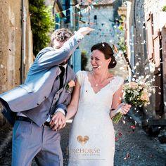 Confetti at Emily & Bernard's Castelnau des Fieumarcon wedding in Gascony, SW France by Firehorse Photography Wedding Events, Wedding Day, Weddings, British Wedding, Medieval Wedding, Wedding Pictures, Confetti, Destination Wedding, France