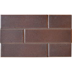 Negro Rosa Leather Ceramic Tiles 2 1/8x7 1/2